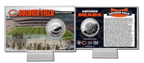 Soldier Field Silver Coin Card