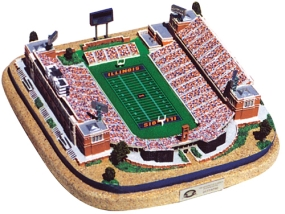 ILLINOIS U MEMORIAL STADIUM REPLICA