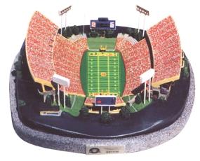CLEMSON COLLEGE MEMORIAL STADIUM REPLICA