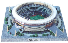 THREE RIVERS STADIUM REPLICA  (FOOTBALL FIELD CONFIGURATION)