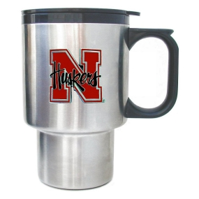 Nebraska Cornhuskers Stainless Travel Mug
