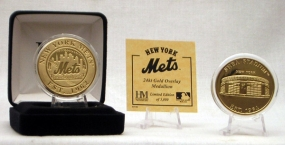 SHEA STADIUM GOLD COIN