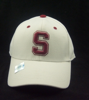 Stanford Cardinal White One Fit Hat