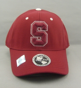 Stanford Cardinal Team Color One Fit Hat