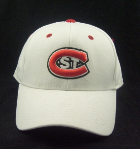 St. Cloud Huskies White One Fit Hat
