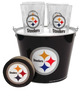Pittsburgh Steelers Gift Bucket Set