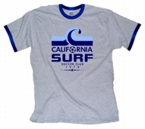 1978 California Surf Ringer T-Shirt