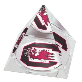 South Carolina Gamecocks Crystal Pyramid
