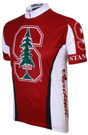 Stanford Cardinal Cycling Jersey