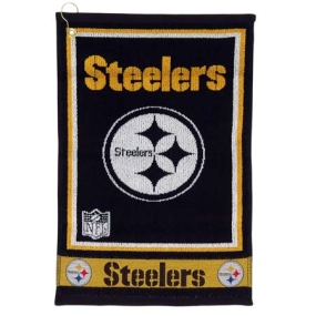 Pittsburgh Steelers Jacquard Golf Towel