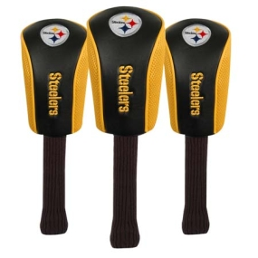 Pittsburgh Steelers Mesh Barrel Headcovers