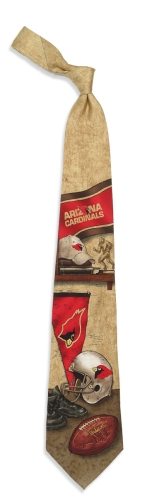 Arizona Cardinals Nostalgia Tie