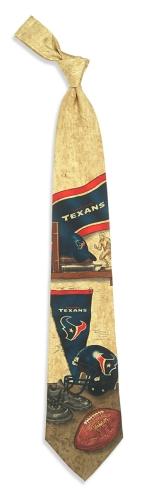 Houston Texans Nostalgia Tie