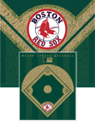 Boston Red Sox Diamond Fleece Blanket