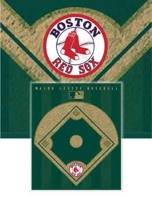 Boston Red Sox Diamond Fleece Blanket