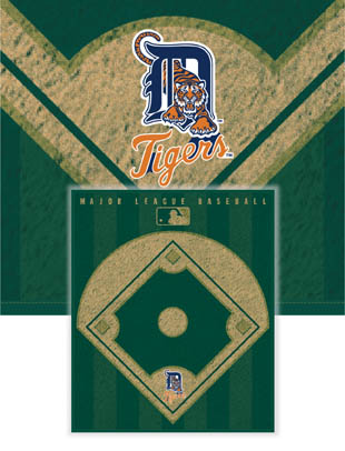 Detroit Tigers Diamond Fleece Blanket