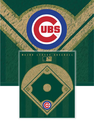 Chicago Cubs Diamond Fleece Blanket