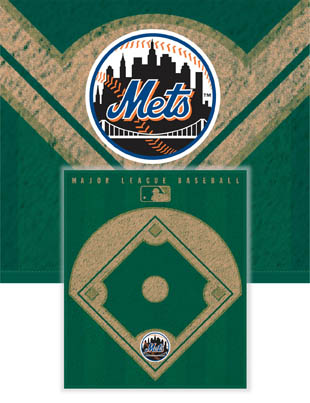 New York Mets Diamond Fleece Blanket