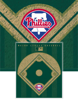 Philadelphia Phillies Diamond Fleece Blanket