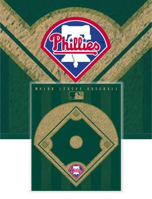 Philadelphia Phillies Diamond Fleece Blanket