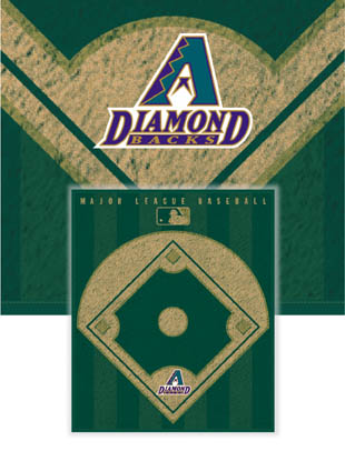 Arizona Diamondbacks Diamond Fleece Blanket