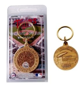 Target Field Bronze Infield Dirt Keychain