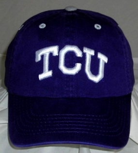 TCU Horned Frogs Adjustable Crew Hat