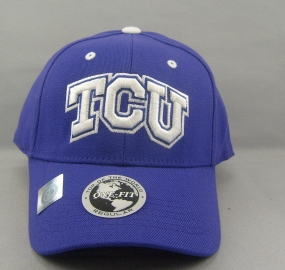 TCU Horned Frogs Team Color One Fit Hat