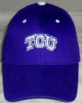 TCU Horned Frogs Youth Team Color One Fit Hat