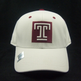 Temple Owls White One Fit Hat