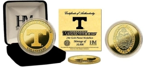 University of Tennessee 24KT Gold Coin