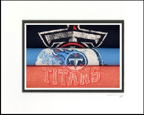 Tennessee Titans Vintage T-Shirt Sports Art
