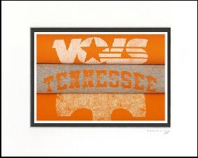 Tennessee Volunteers Vintage T-Shirt Sports Art