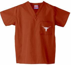 Texas Longhorns Scrub Top