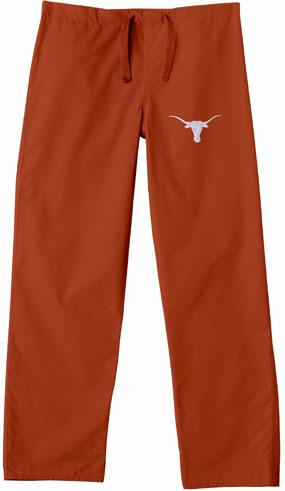 Texas Longhorns Scrub Pants