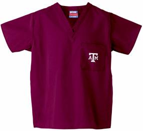 Texas A&M Aggies Scrub Top