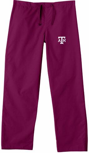 Texas A&M Aggies Scrub Pants