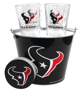 Houston Texans Gift Bucket Set