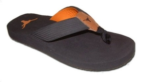 Texas Longhorns Flip Flop Sandals