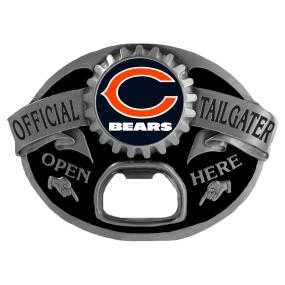 Chicago Bears Bottle Opener Belt Buckle