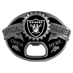 Oakland Raiders Bottle Opener Belt Buckle