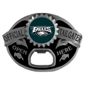 Philadelphia Eagles Bottle Opener Belt Buckle