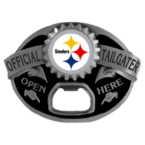 Pittsburgh Steelers Bottle Opener Belt Buckle