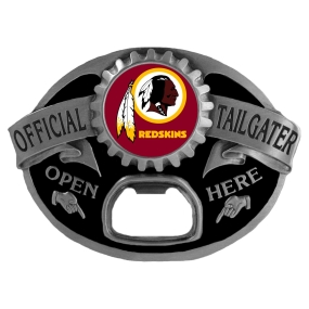 Washington Redskins Bottle Opener Belt Buckle