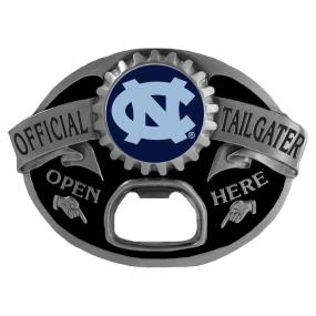 North Carolina Tar Heels Bottle Opener Belt Buckle