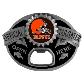 Cleveland Browns Bottle Opener Belt Buckle