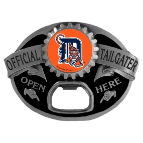 Detroit Tigers Bottle Opener Belt Buckle