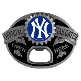 New York Yankees Bottle Opener Belt Buckle