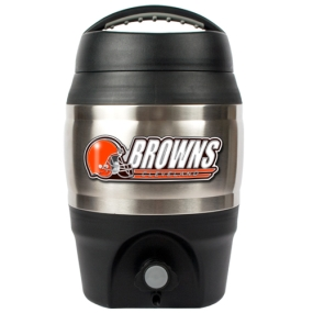 Cleveland Browns 1 Gallon Tailgate Keg
