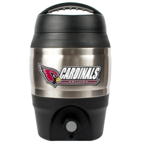 Arizona Cardinals 1 Gallon Tailgate Keg